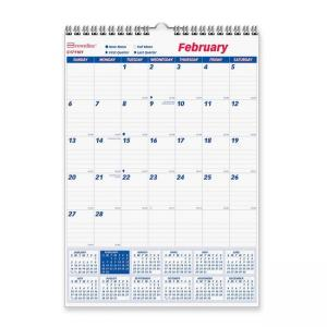 Brownline Monthly Wall Calendar - Monthly