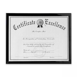 Burnes Document Frame - 1 Each - Black