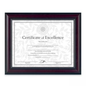 Burnes Document Frame - 1 Each - Rosewood