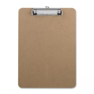 Business Source Clipboard - 1 Each - Brown