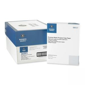 Business Source 36591PL Copy Paper - 40CT.- White