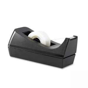 Business Source Desktop Tape Dispenser - Black - 1 Each