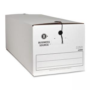 "Business Source File Storage Box - 12"" Height x 24"" Width x 10"" Depth"
