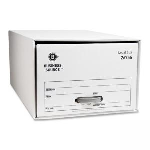"Business Source File Storage Drawer - 10.25"" Height x 15.50"" Width x 23.25"" Depth"