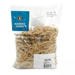 Business Source Quality Rubber Band - Size: 18