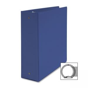 "Business Source Round Ring Binder - 3"" Capacity"