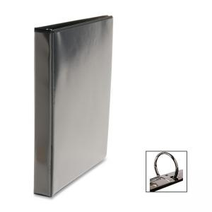 "Business Source Round Ring Presentation Binder - 1"" Capacity"