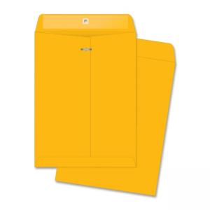 Business Source Rugged Kraft Clasp Envelope