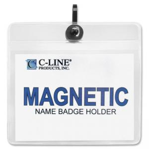 C-line Magnetic Style Name Badge Kit