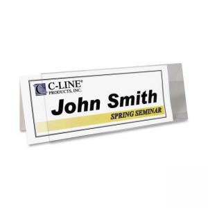 C-line - Rigid Name Tent Holder