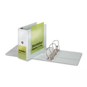 "Cardinal ClearVue Locking D Ring Presentation Binder - D Shape - 5"" Capacity"