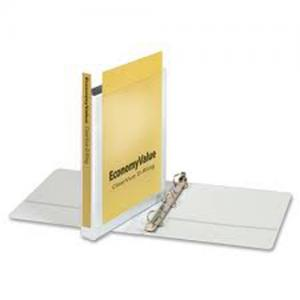 Cardinal EconomyValue ClearVue Locking Slant D-Ring View Binder