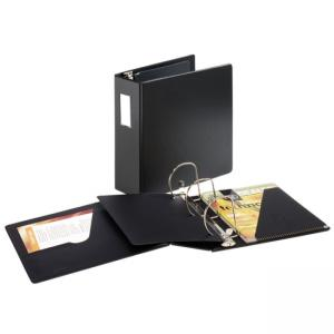Cardinal Slant-D Ring Binder with Label Holder - Locking Mechanism