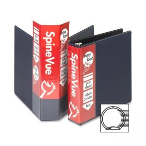 "Cardinal SpineVue Ring Binder - 3 x Round Shape - 3"" Capacity"