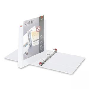 "Cardinal XtraLife ClearVue D-Ring Presentation Binder - D Shape - 1"" Capacity"