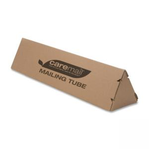 "Caremail 1407103 Mailing Tube - 3"" x 36"" - 12 / Pack - Brown"