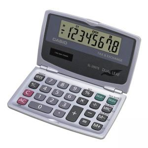 Casio Handheld Foldable Pocket Calculator, 8-Digit LCD