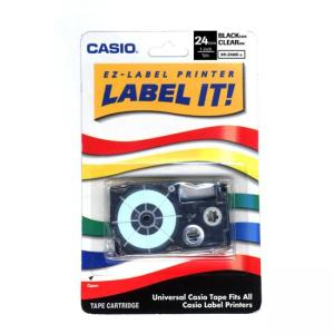 Casio Label Printer Tape - White