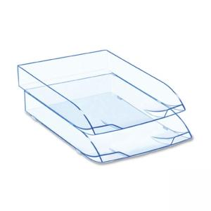 CEP Ice Blue 147/2i Desk Tray - Ice Blue - 1 Each