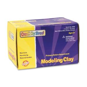 ChenilleKraft Modeling Clay - For All Ages - 1 Pack - Assorted Colors