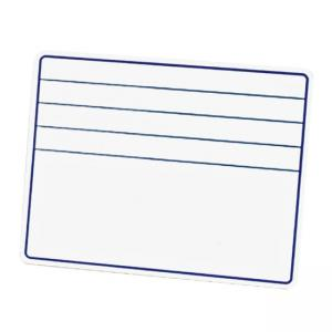 ChenilleKraft Ruled Dry-Erase Board with Lines - 1 Each - White