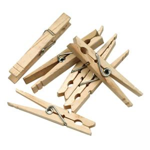 "ChenilleKraft Spring Clothespin - 3.38"" Length - Wood"