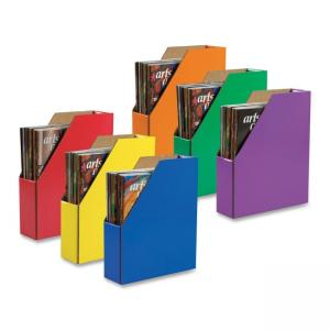 Classroom Keepers 23489 001327 Magazine File -  6 Each - Assorted Colors