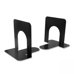 "CLI 5"" Nonskid Bookends - Black - 1/ Pair"