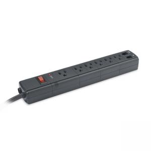 Compucessory 6-Outlets Surge Suppressor - 1.5 kJ