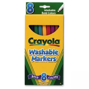 Crayola Art Markers Assorted 8 / Box