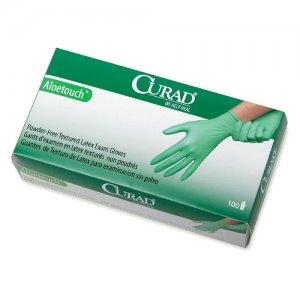 Curad Aloetouch Latex Exam Gloves