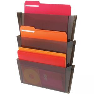 Deflect-o Unbreakable DocuPocket Letter Size Wall Pockets