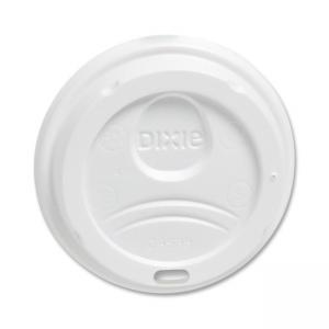 Dixie PerfecTouch Hot Cup Lid - 1000 / Carton - White