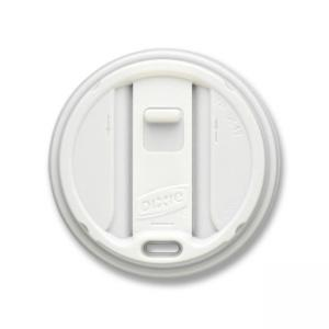 Dixie Smart Top Reclosable Hot Cup Lid - 100 / Pack