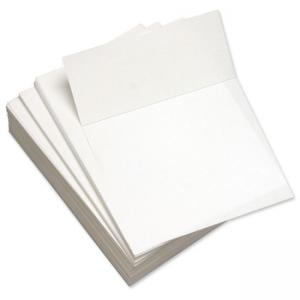 "Domtar 3.6"" Microperforated Custom Cut Sheet - 5 / Carton - White"