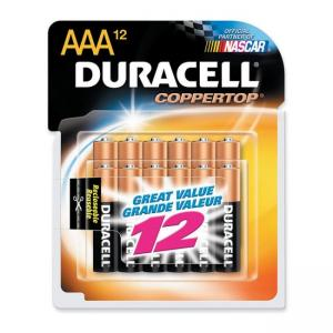 Duracell Alkaline General Purpose Battery - AAA - 12 / Pack