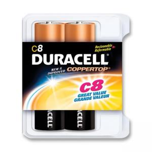 Duracell C Size Alkaline battery - 8 / Pack