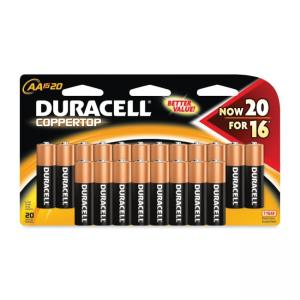 Duracell CopperTop General Purpose Battery AA - 20 / Pack