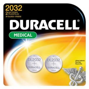 Duracell DL2032B2PK Coin Cell General Purpose Battery - 2 Pack