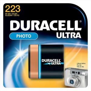 Duracell DL223ABPK  Lithium Camera Battery
