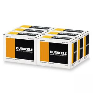 Duracell MN1300 Alkaline Manganese D Size General Purpose Battery - 12 Pack