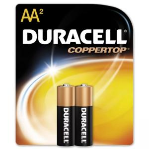 Duracell MN1500B2Z Alkaline General Purpose Battery - 2 / Pack - AA