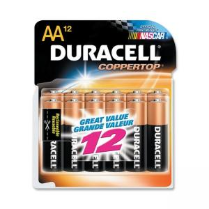 Duracell MN15RT12Z Alkaline General Purpose Battery - AA - 12 / Pack