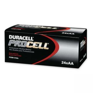Duracell PROCELL Alkaline General Purpose Battery - 24 Pack - AA