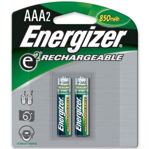 Energizer AAA Rechargeable Nickel Metal Hydride Battery - 2 / Pack