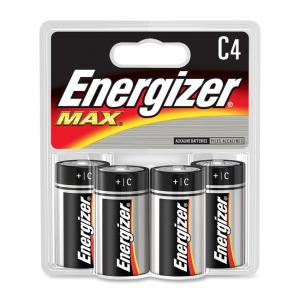 Energizer C Cell Alkaline Battery - 4 / Pack