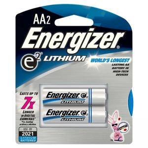 Energizer e2 Lithium General Purpose Battery - 2 / Pack