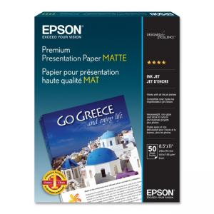 Epson Matte Heavyweight Inkjet Paper - 50 / Pack - White