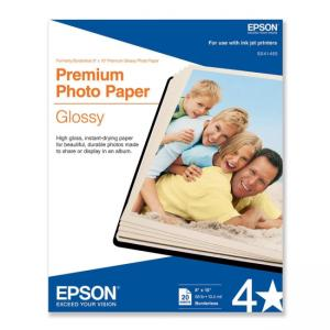 "Epson Premium Glossy Photographic Papers - 8"" x 10"""
