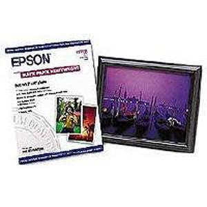 "Epson Very High Resolution Print Paper - 8"" x 10"" - Matte - 50 Sheet"